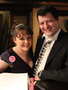 Sarah Lark and Nathan Martin on our 7th Anniversary night