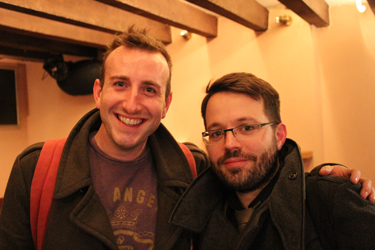 Gus Gowland and James Beal on 13 November 2015