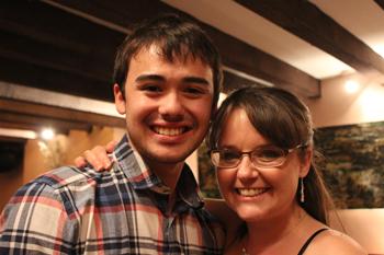 Jordan and Sarah