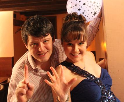 Nathan Martin and Sarah Lark