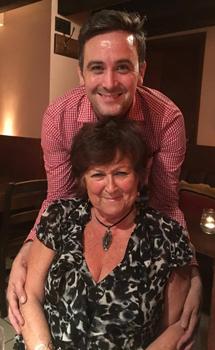 Nic and Linda on 16 September 2016