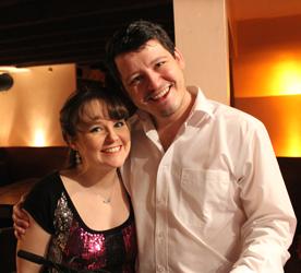 Sarah Lark and Nathan Martin