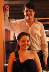 Sarah Lark and Nathan Martin on 27 November 2015