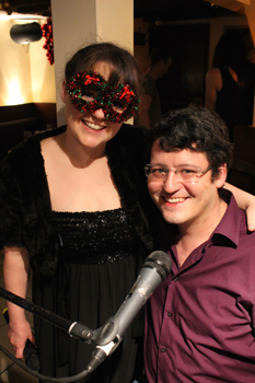 Sarah Lark and Nathan Martin on 9 December 2016